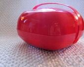 Coolest Red Mod Picnic Basket Ever