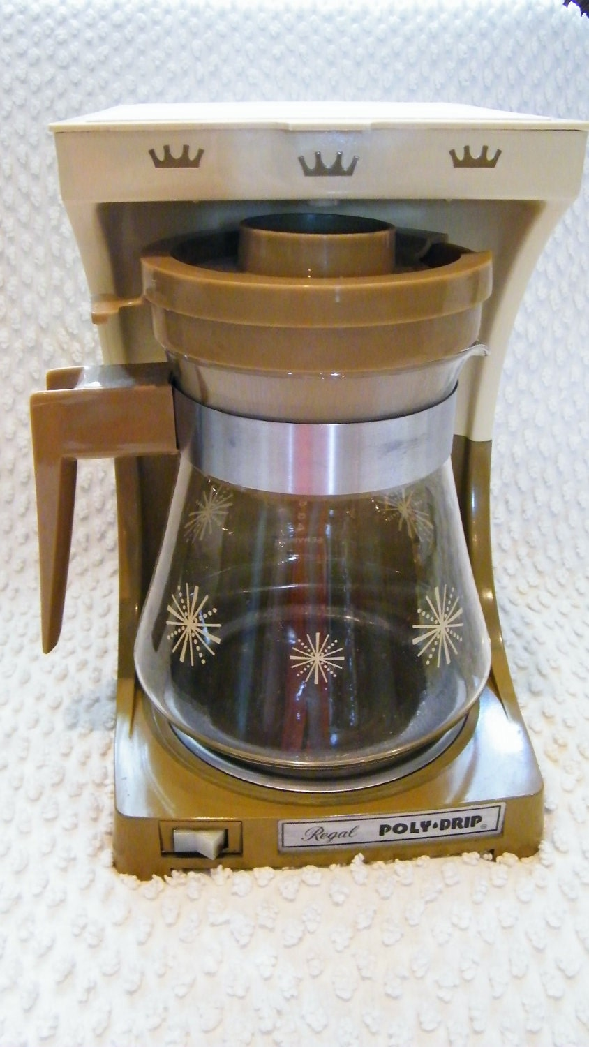 Old Drip Coffee Maker : Classic 1970s Regal Coffee Maker Works Great by hmmosko on Etsy
