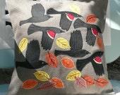 Fall Migration Pillow