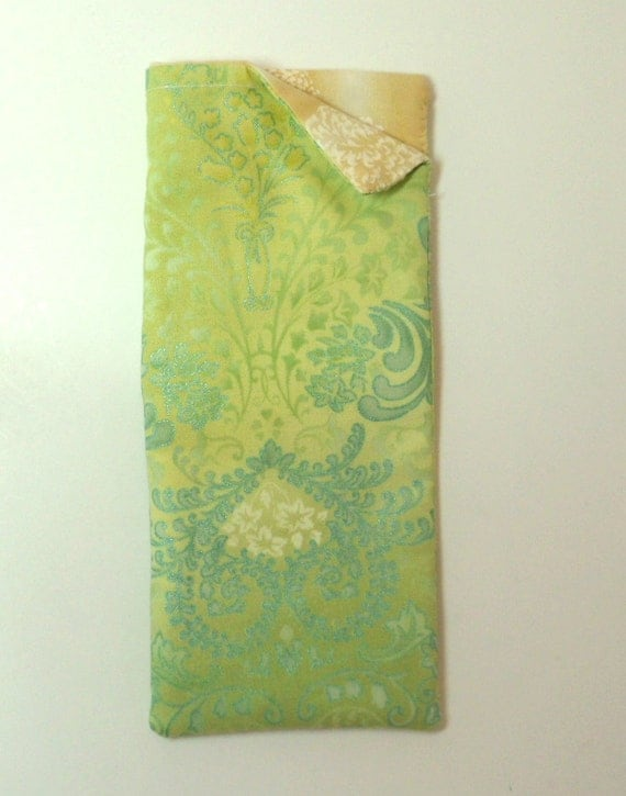 Eyeglass,  sunglass case, cotton fabric