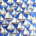 Sailboat Fabric , Nautical Fabric Sailing Ships Fabric , Anchors Aweigh , RJR Fabrics Sewing Fabric Quilting Fabric By the Yard