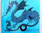 Blue Dragon Miniature