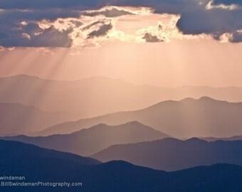 Photograph Smoky Mountain Sunset
