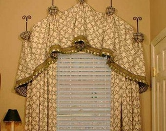 Arch relaxed valance
