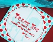 PRINTABLE Favor Tag - Carnival/Circus Party