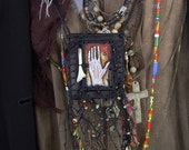 Hand and a Bone - Traveler's Necklace / Pouch
