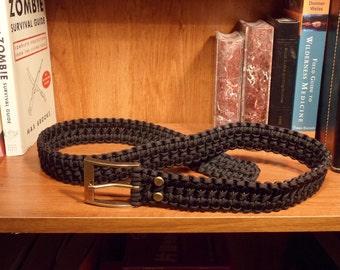 Paracord Belt by 8 Legs Web Belts