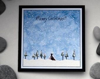 Merry Christmas (snow)