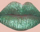 ZOMBIE Moisturizing Lipstick - Super Fun Bright Green Color - All Natural