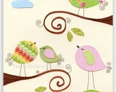 Nursery wall art, Baby gi...