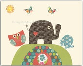 Nursery Art Decor, Kids P...