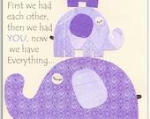 Purple Elephant Kids Room...