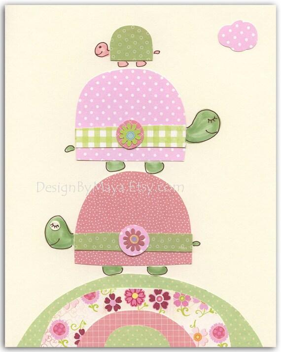 nursery wall art print baby girl room decor kids room baby. Black Bedroom Furniture Sets. Home Design Ideas