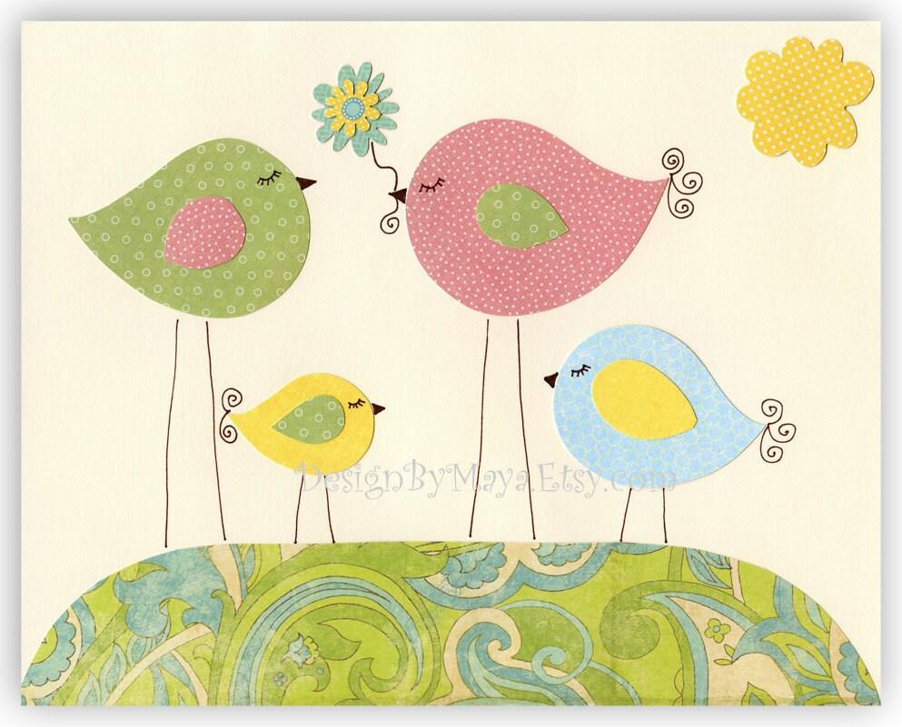 Etsy Girl Nursery Wall Decor : Baby girl room nursery wall art love by