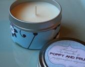 Gardenia Soy Candle Tin