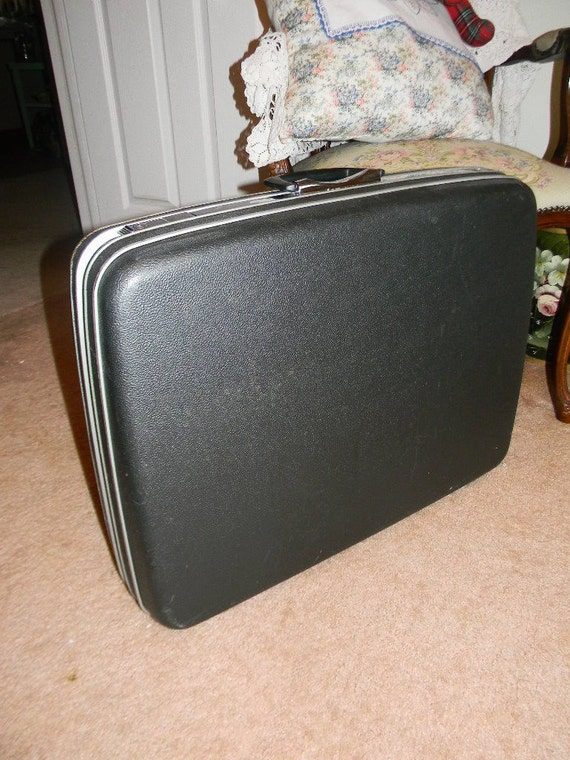 Samsonite Suitcase Grey XL Oxford Hard Case Silhouette with Key