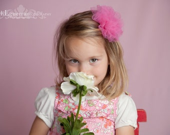 Spring Pink  Photography Backdrop 5x9 seamless, matte finish, Machine wash/dry