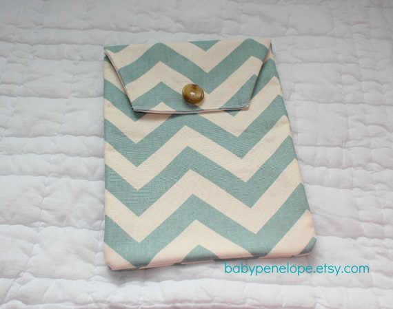 diaper and wipes case holder chevron blue and by babypenelope. Black Bedroom Furniture Sets. Home Design Ideas