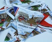 Cool London Bunting (single sided) - Perfect for the royal wedding.