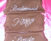 5 Bridesmaid Shirts. Off The Shoulder Mrs Shirt. Future Mrs. Bride To Be. Bridesmaid. Maid of Honor. Matron of Honor.  Bachelorette Shirts.