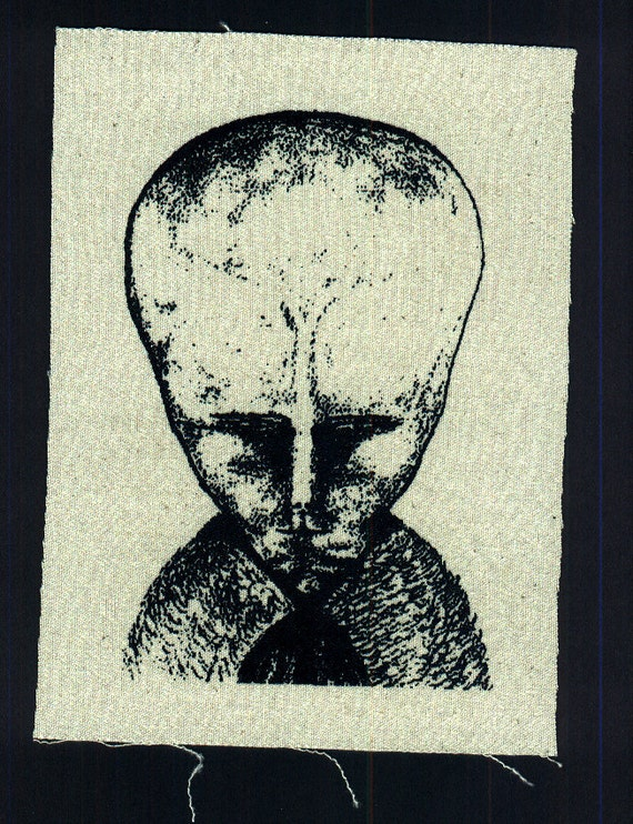 Occult Aleister Crowley LAM angelic entity screenprint patch
