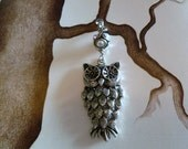 Small Owl Ceiling Fan Pull The Nature Collection