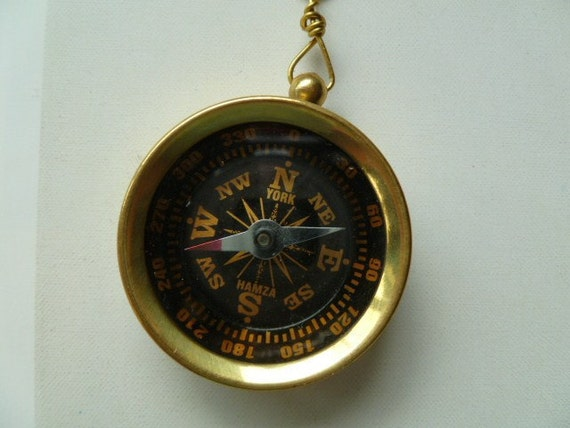 Compass, Pull Chain for Light Fixture or Ceiling Fan Pull The Adventure Collection
