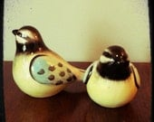 Pretty Bird Salt and Pepper Shakers