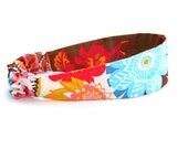 reversible floral headband / summer fashion
