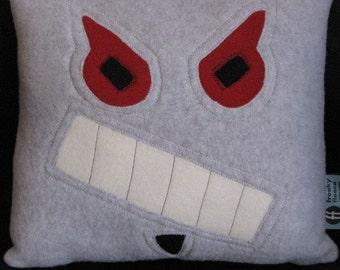 Robot Pillow - Evil - Geek Chic Home Decor