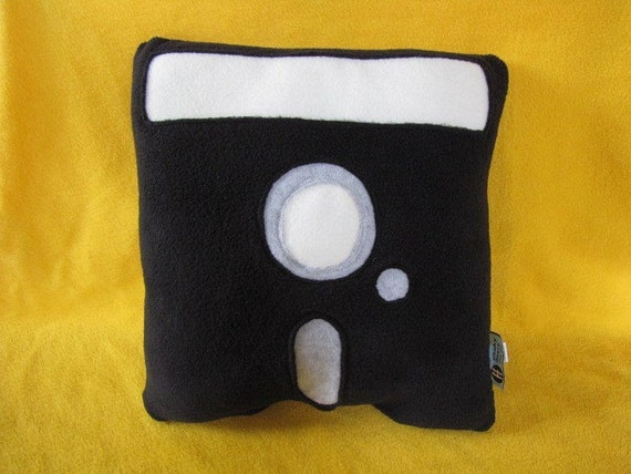 Floppy Disk Pillow - 5-1/4 Inch - Geek Chic Home Decor