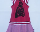 Pleased to meet you Sz 7/8 OOAK custom boutique upcycled dress