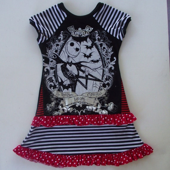 The pumpkin king Sz 7/8 upcycled dress