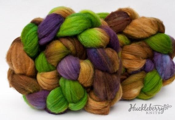 Merino/cashmere/nylon combed top (roving): SONOMA