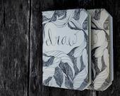Draw. A little Notebook. Set of 2.