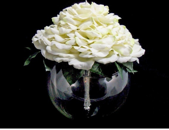 Bridal White Glamelia Bouquet