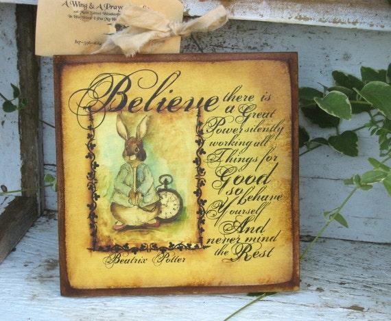 Believe Bunny
