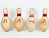 Set of Vintage Bowling Pins
