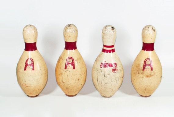 Set of Vintage Bowling Pins