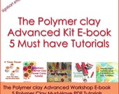Polymer clay Tutorials Advanced guide E-book tutorials