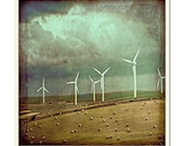 Wind Power 2 - Grunged Photographic Print by Doug Armand on Etsy - DAIP0089