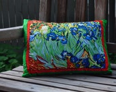 Van Gogh's Irises Pillow