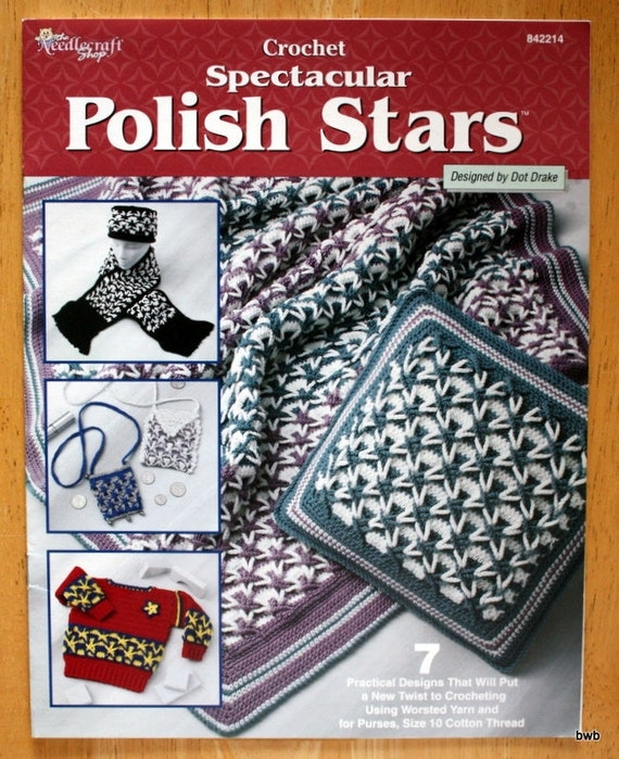 Free Crochet Pattern For Polish Star : Crochet Spectacular Polish Stars Pattern Book 842214