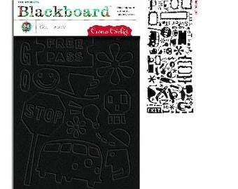 SALE Get Happy Designs Blackboard by Cosmo Cricket