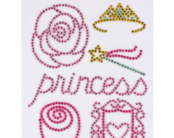 Princess Ever After Colored Jewels Flourishes Stickers by Pebbles 732051