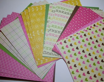 6x6 paper pack TWITTERPATED by Pebbles Inc 24 Sheets