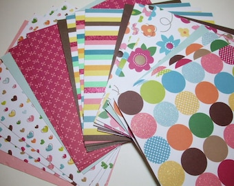 6x6 paper pack CITY PARK B by American Crafts 16 Sheets