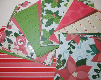 6x6 paper pack DEAR LIZZY Christmas B by American Crafts 28 Sheets