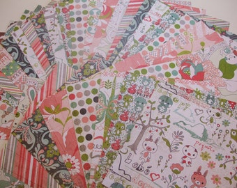 6x6 paper pack OLIVIA by Basic Grey 32 Sheets