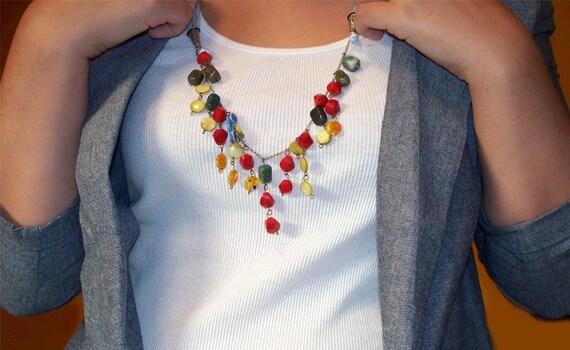 The Poppy Field Necklace